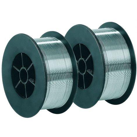 Fil fourré sans gaz 0.9mm 900g Lot de 2 bobines Ø 0.9mm INEFIL Soudage MIG-MAG