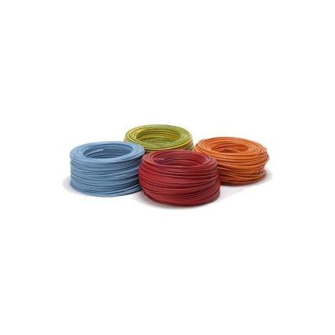 Fil H07VR 10 mm2 BLEU Rigide cable