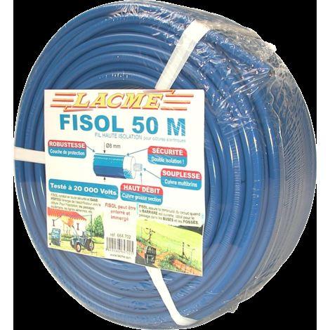 Fil haute isolation Fisol - Lacmé - 50m