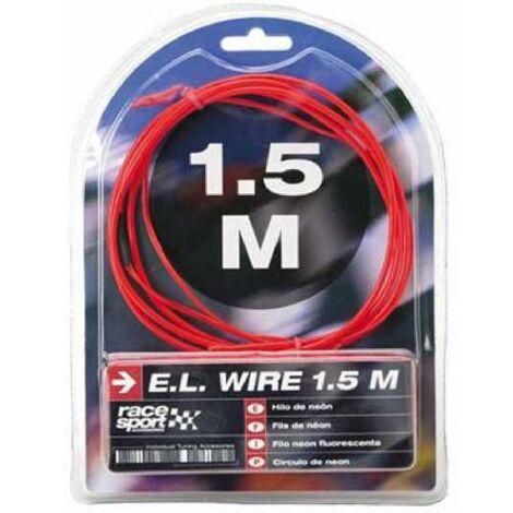 Fil neon - Effet Flash - 3m - Rouge Generique