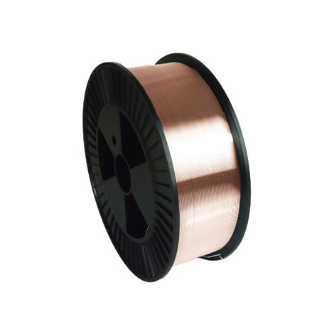 Fil plein acier GYS G3Si1/ER70S-6 Ø1 mm - Bobine plastique S300 / 15 kg - 086234