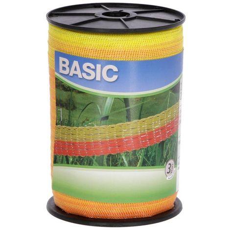 Fil pour clôture électrique - Basic Classe - 10 mm x 200 m - blanc