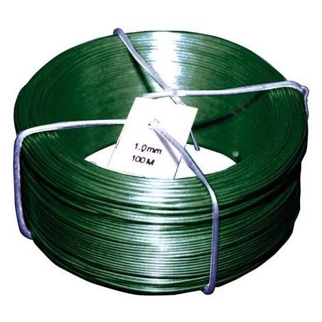 Fil PVC vert 1,4/0,9 mm x 50 m (Par 10)