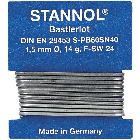 Fil soudure Nr.472244 1m Stannol