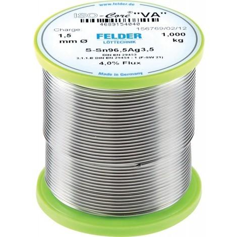 Fil soudure Va Sn 96,5 D:1,5 mm 250 g (Par 250)
