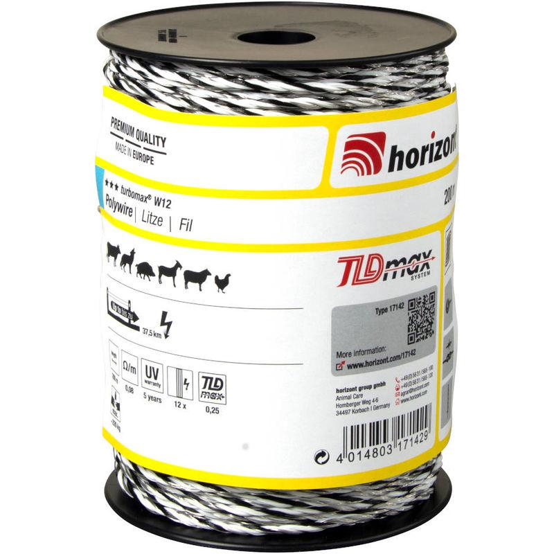 Fil TURBOMAX W12 200m - Horizont
