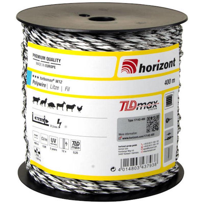 Fil TURBOMAX W12 400m - Horizont