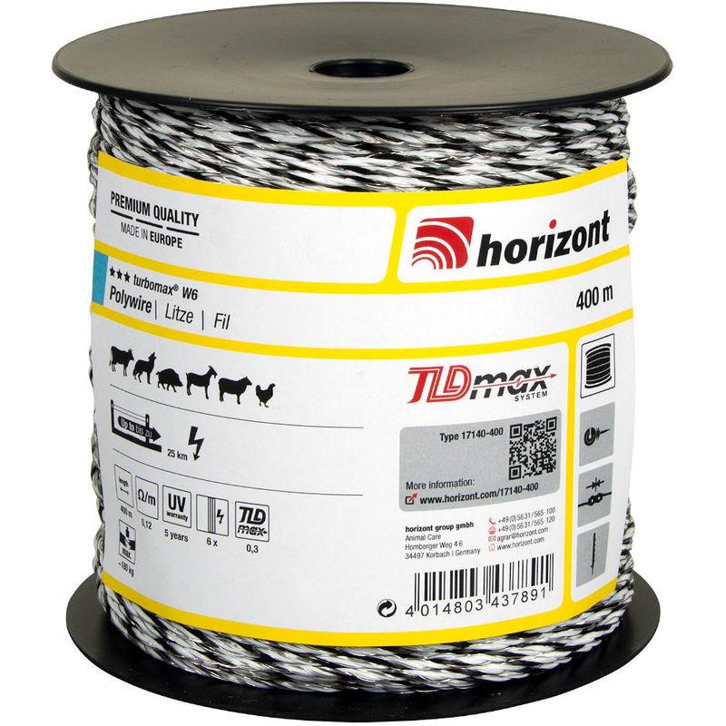 Fil TURBOMAX W6 400m - Horizont