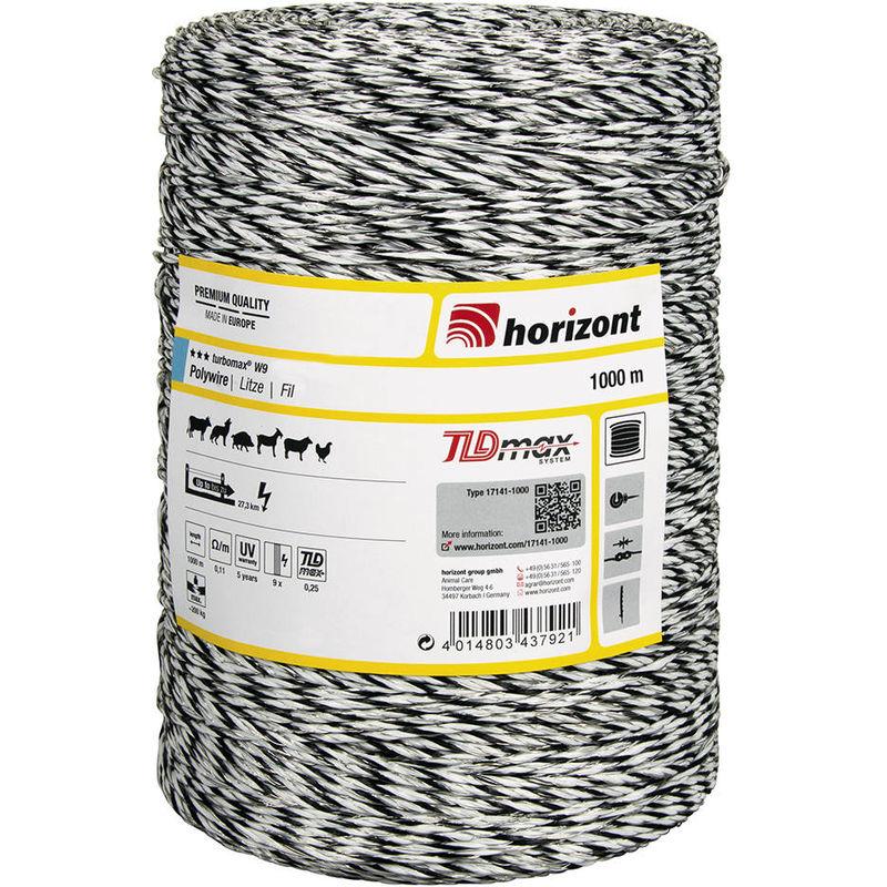 Fil TURBOMAX W9 1000m - Horizont