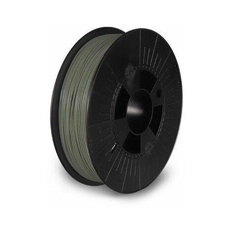 Filament pla 1 75 mm - gris mousse - mat - 750 g