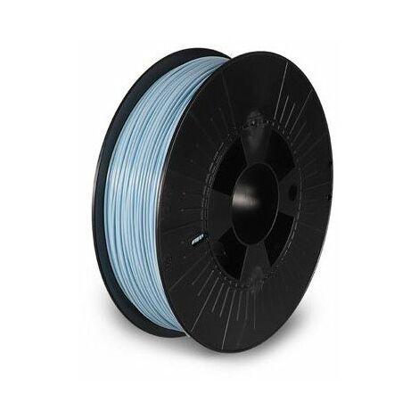 Filament pla 1 75 mm - bleu pastel - 750 g