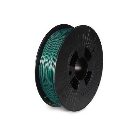 Filament pla 1 75 mm - vert métallique - mat - 750 g