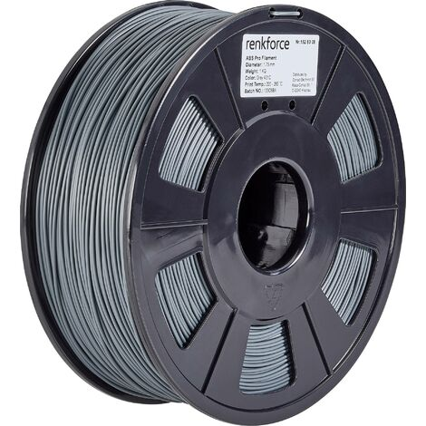 Filament renkforce ABS Pro 1.75 mm gris, 1 kg S562761