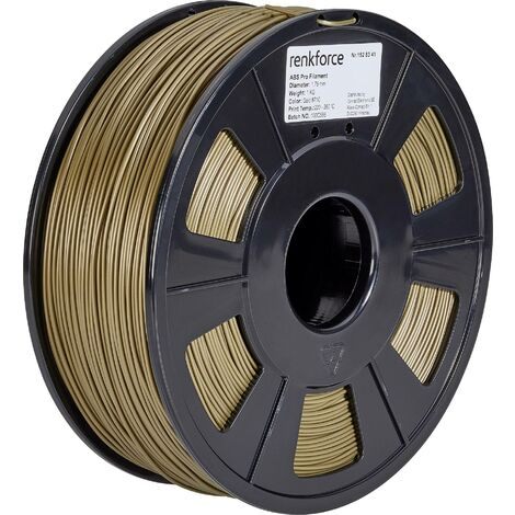 Filament renkforce ABS Pro, 1,75 mm, or, 1 kg S562191