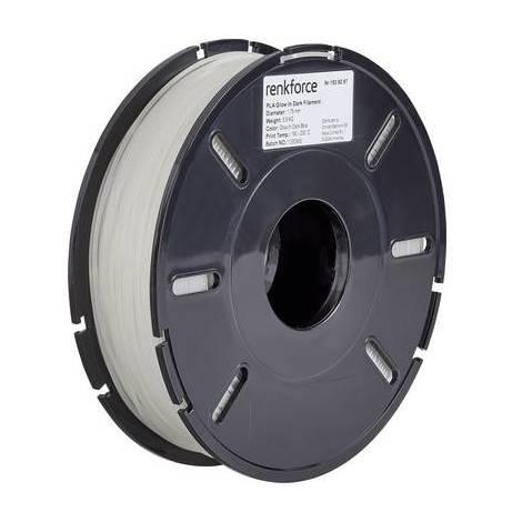 Filament Renkforce PLA 1.75 mm bleu (fluorescent) 500 g