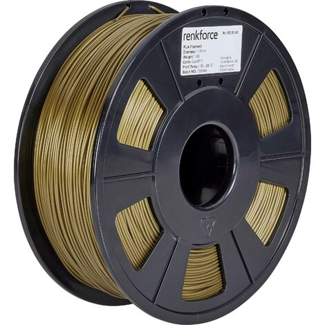 Filament renkforce PLA 1.75 mm or, 1 kg S562171