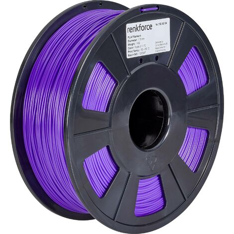 Filament renkforce PLA 1.75 mm pourpre, 1 kg S565011