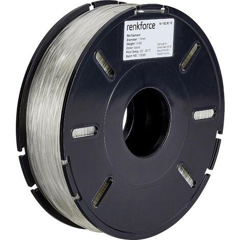 Filament renkforce polyamide (nylon) 1.75 mm transparent, 500 g S562931