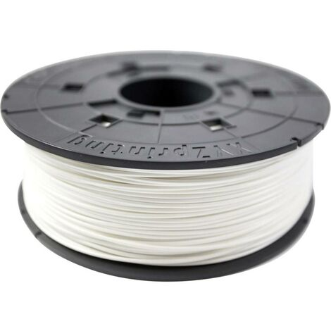 Filament XYZprinting 600gr White PLA Filament Cartridge plastique PLA 1.75 mm blanc 600 g