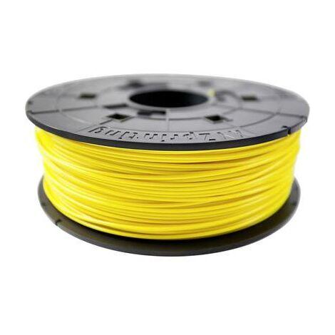 Filament XYZprinting PLA 1.75 mm jaune 600 g Junior
