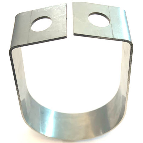 """main image of """"Filbow Hanging Clamp (sprinkler) for 3/4"""" NB (20 NB - 26.9 OD) Pipe -T316 Marine Grade Stainless Steel"""""""