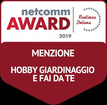 Netcomm business partner Menzione hobby giardinaggio e fai da te