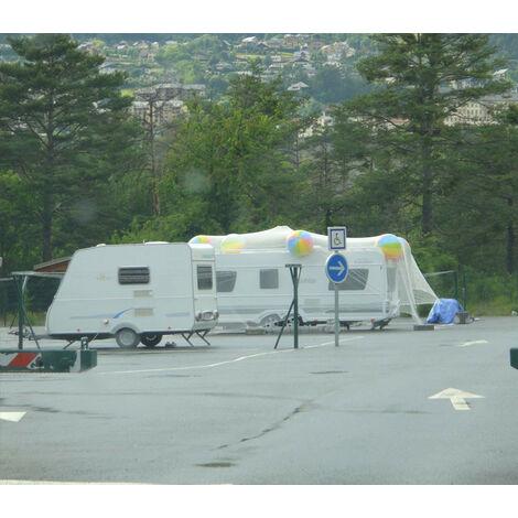 Filet anti-grêle 8x13m pour caravane, voiture ou arbre
