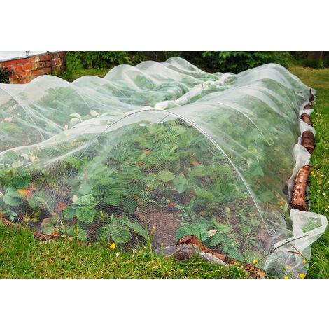 Filet anti-insectes 45gr/m² - Sans traitement UV 2.2m x 5m
