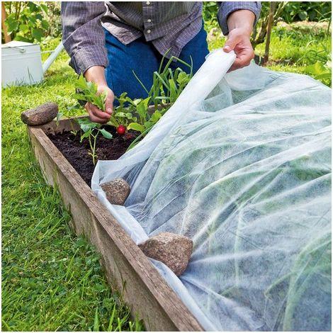 Cómo instalar las redes de protección anti-insectos en horizontal sobre el cultivo