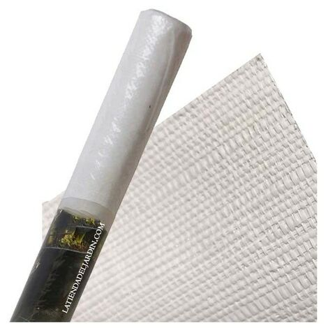 Filet anti-mauvaises herbes blanches 1,25 x 10 m, 105 gr / m2