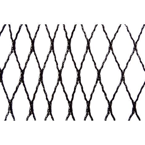 Filet anti-oiseaux - Maille de 15mm Noir 5m x 10m - Noir