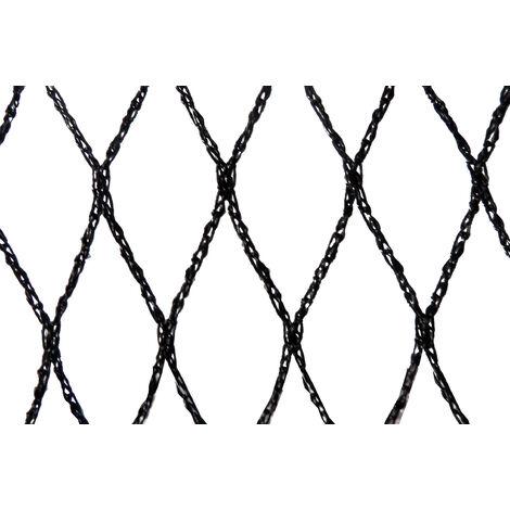 Filet anti-oiseaux - Maille de 29mm Noir 10m x 10m - Noir
