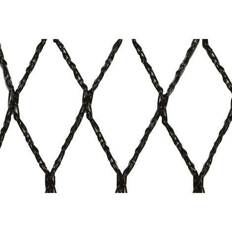 Filet anti-oiseaux - Maille de 35mm - Grande dimension Noir 20m x 100m - Noir