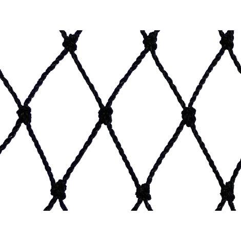 Filet anti-oiseaux - Maille de 60mm Noir