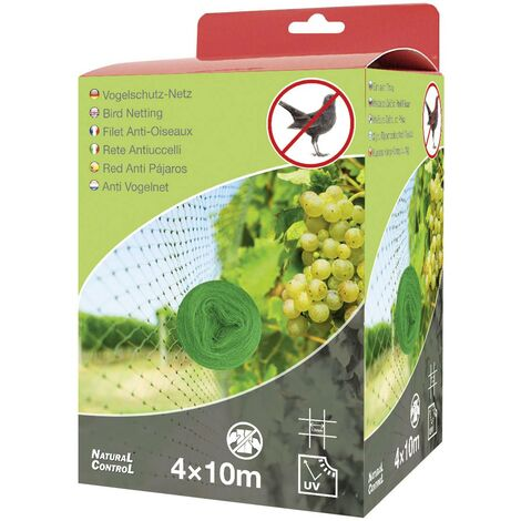 Filet anti-oiseaux Swissinno Natural-Control netting 4x10m 1 258 001 effet dissuasif 1 pc(s) Q750732