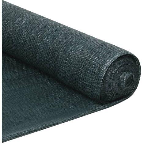 Filet brise-vue PEHD 1,5 x 50 m Vert