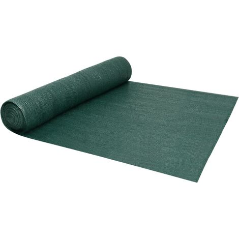 Filet brise-vue Vert 1,5x25 m PEHD 195 g/m²