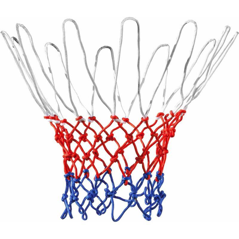 Filet de Basket en Nylon Rouge/Blanc/Bleu 12 Boucles