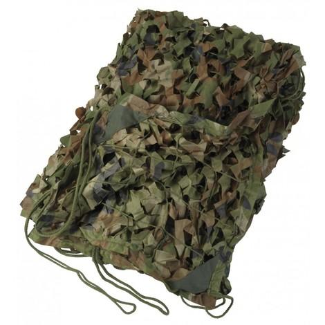 Filet de camouflage 65 g/m2 - 4x5m OU 2x3m