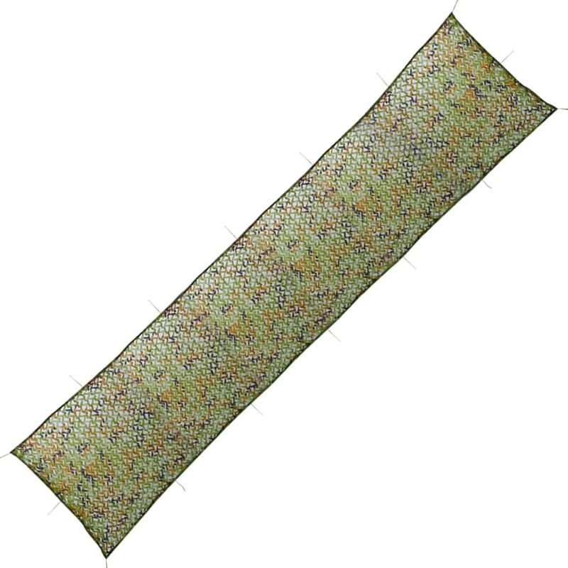 Vidaxl - Filet de Camouflage avec Sac de Rangement Vert 1,5x10 m