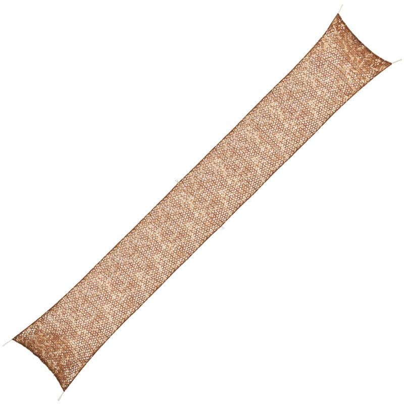 Vidaxl - Filet de Camouflage avec Sac de Rangement Beige 1,5x10 m