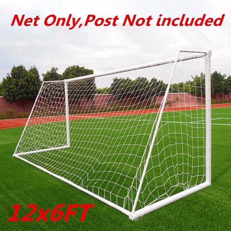 Manta - Filet de football pleine taille 12x6FT pour poteau de but de football Accessoires pour outils d'entra?nement sportif junior (filet