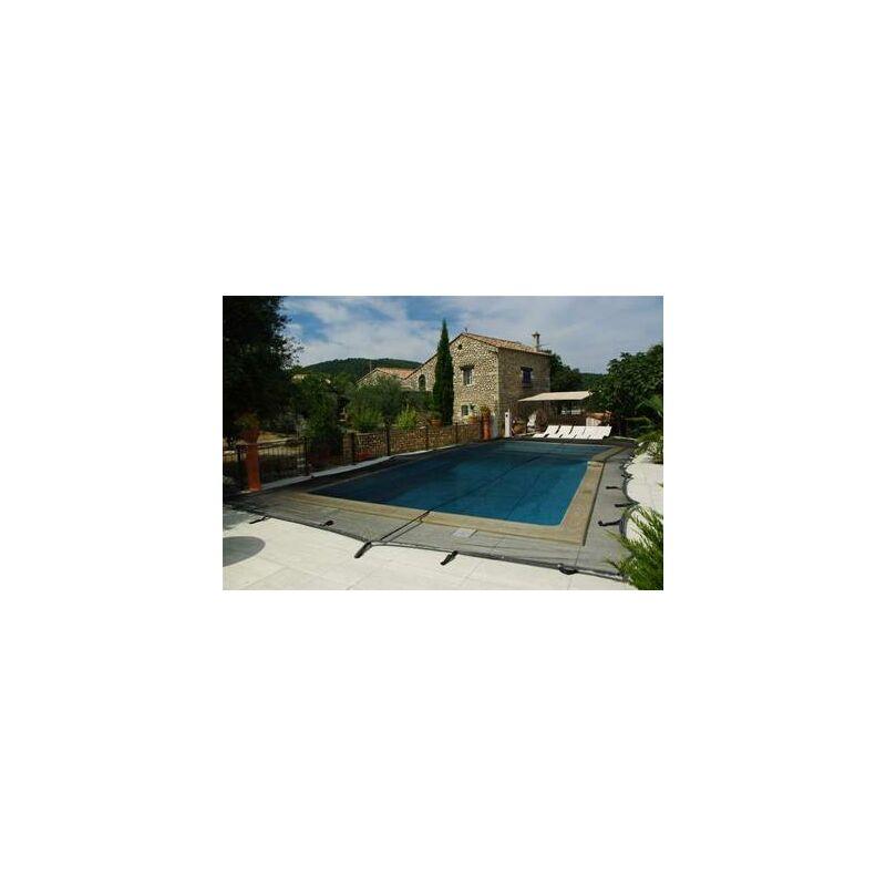 Filet de protection anti feuille pour piscine 8x4 metres - HELIOTRADE