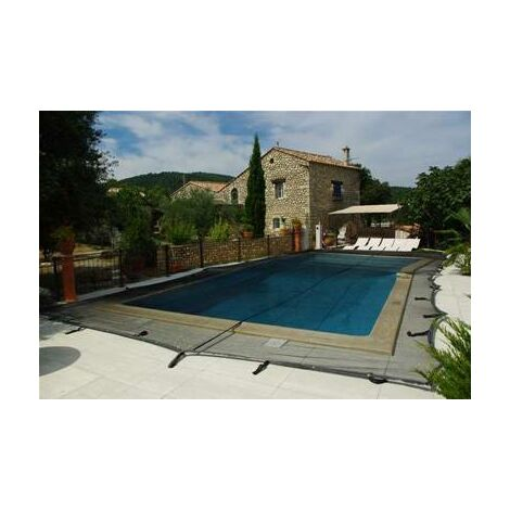 Filet de protection anti feuille pour piscine 8x4 metres