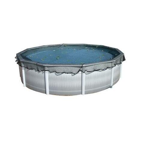 Filet de protection anti feuille pour toute piscine hors sol 1155 - Protection pour piscine enterree ...