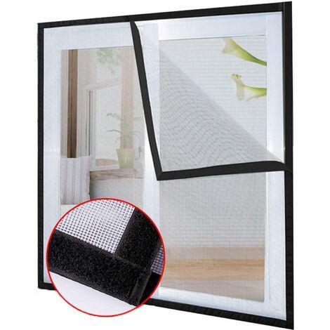 Filet de protection pour chat avec ruban adhésif, Pour fenêtre de balcon Moustiquaire (1.2*1.5M)