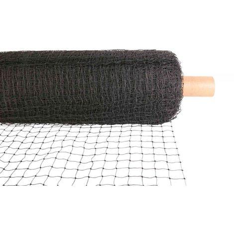 Filet de protection (rouleau: 75 × 2 M) - 1 m², noir