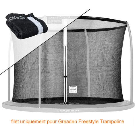 Filet de sécurité [PAS Trampoline entier] et Protection 180cm Haute qualité SEULEMENT Pour Trampolines GREADEN Ø 305cm