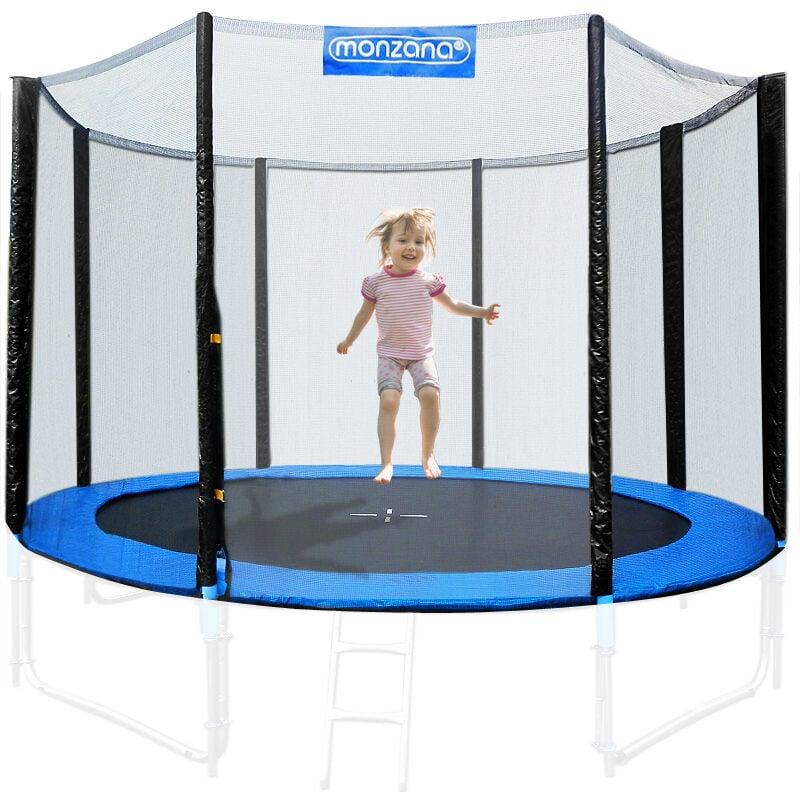 Filet de sécurité pour trampoline Résistant Entrée fermable Dimension au choix 305 cm