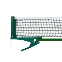 Filet de table de tennis en métal 19,2 x 23,5 cm filet table de ping-pong, vert